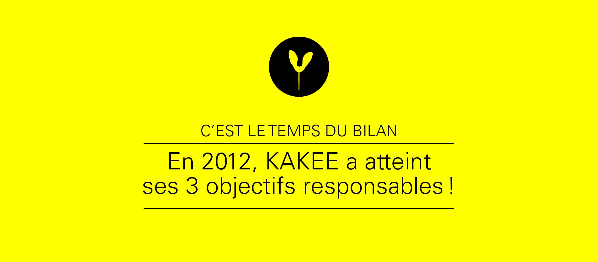 KAKEE publie son premier bilan responsable.