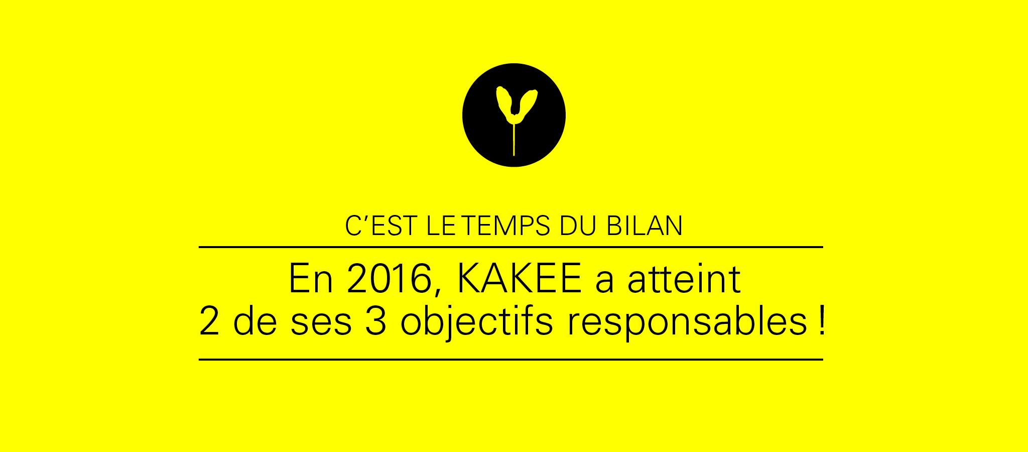 KAKEE publie son quatrième bilan responsable.
