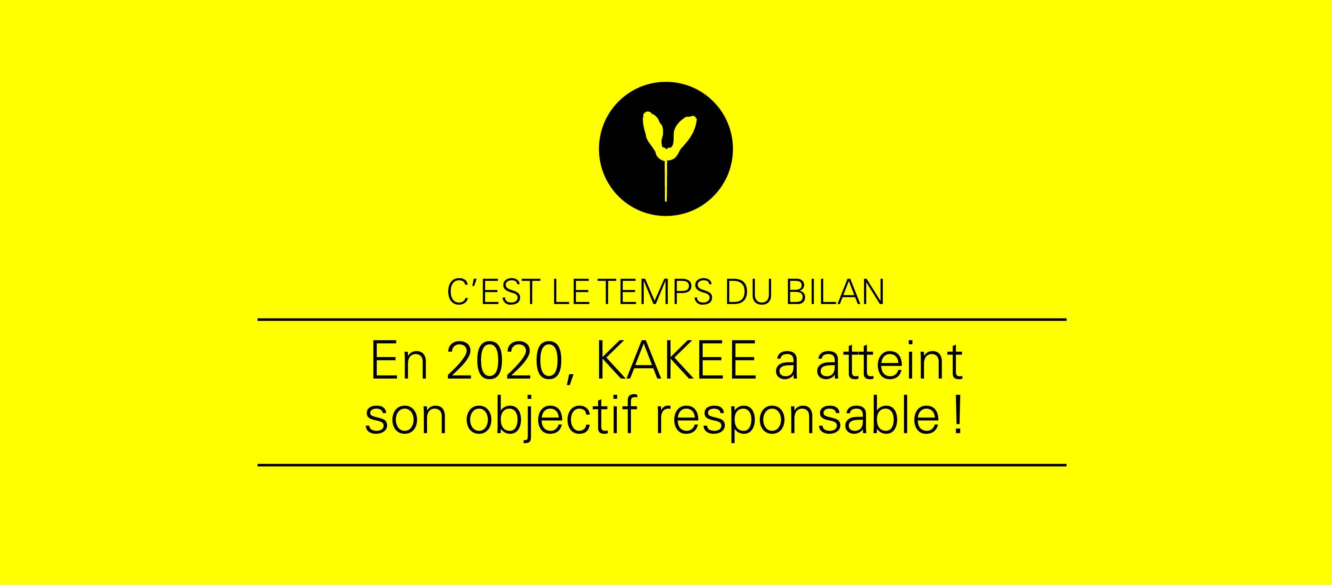 KAKEE publie son bilan responsable.