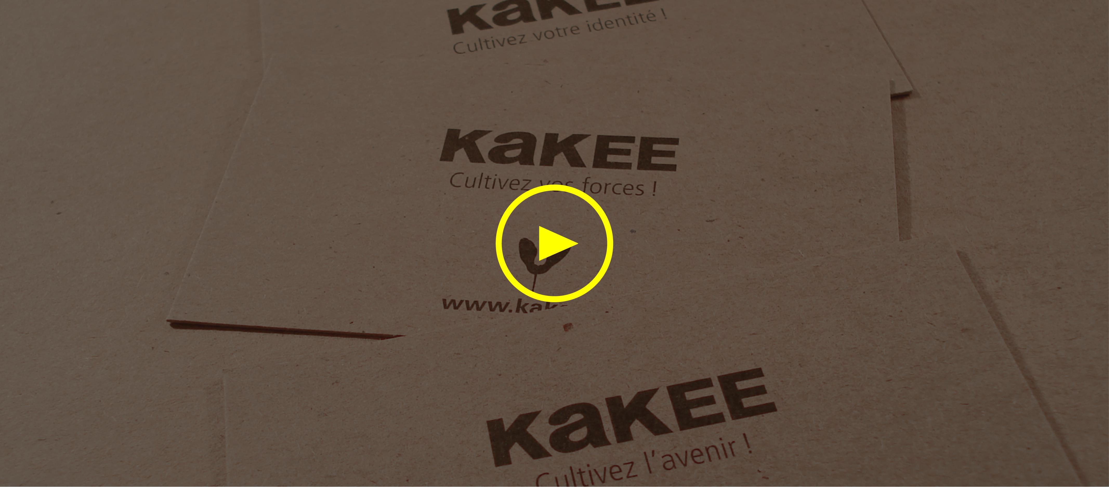 Nouveaux outils promotionnels responsables de KAKEE.