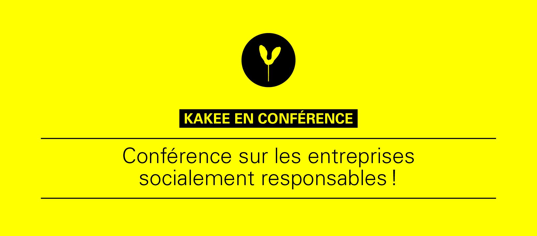 KAKEE donnera une conférence au Forum des Entreprises Socialement Responsable de HEC.