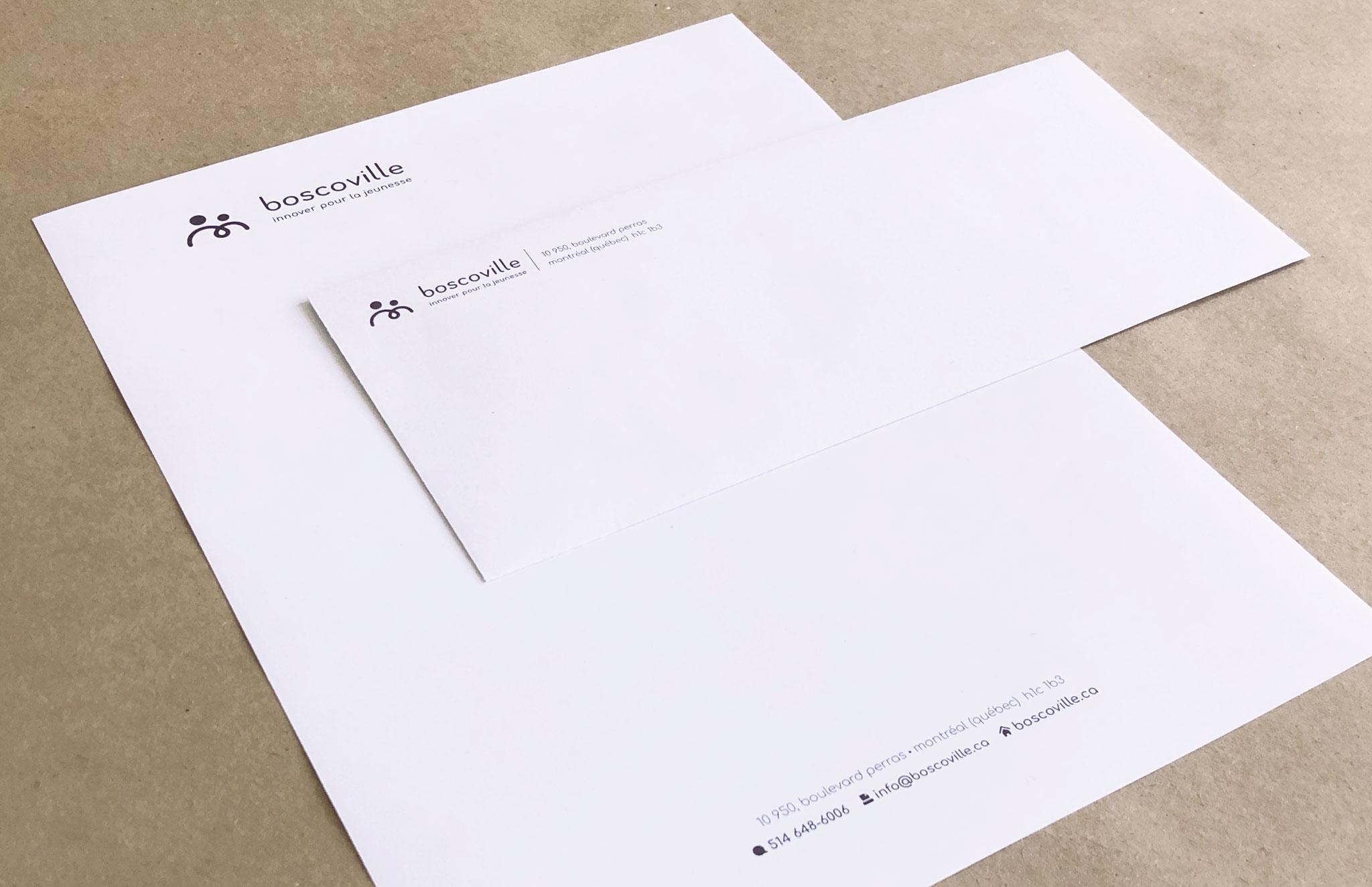 Nouvelle identité visuelle de Boscoville.