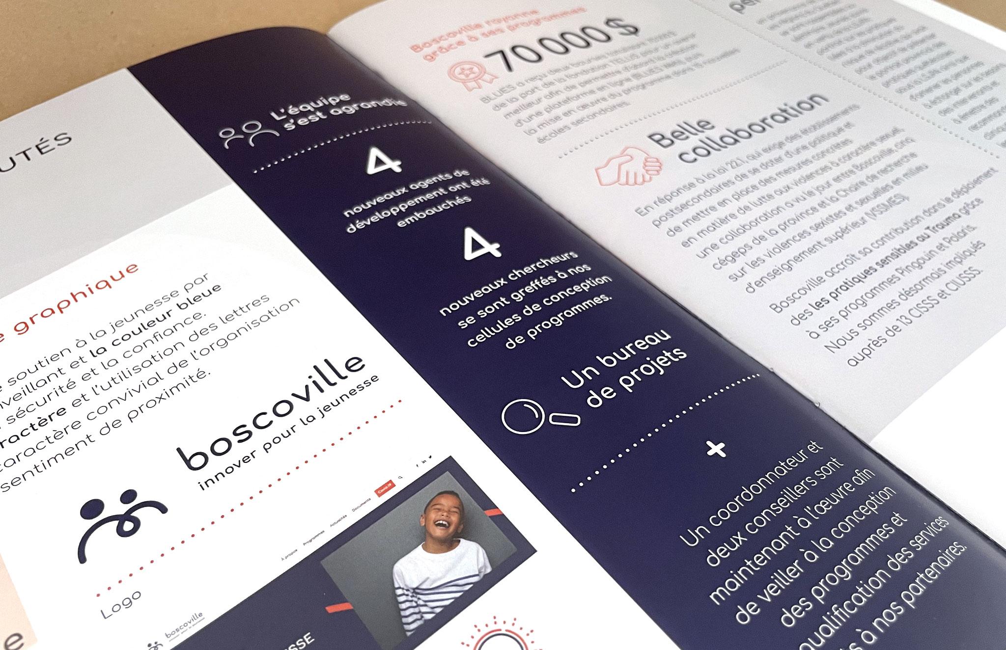 Rapport annuel de Boscoville.