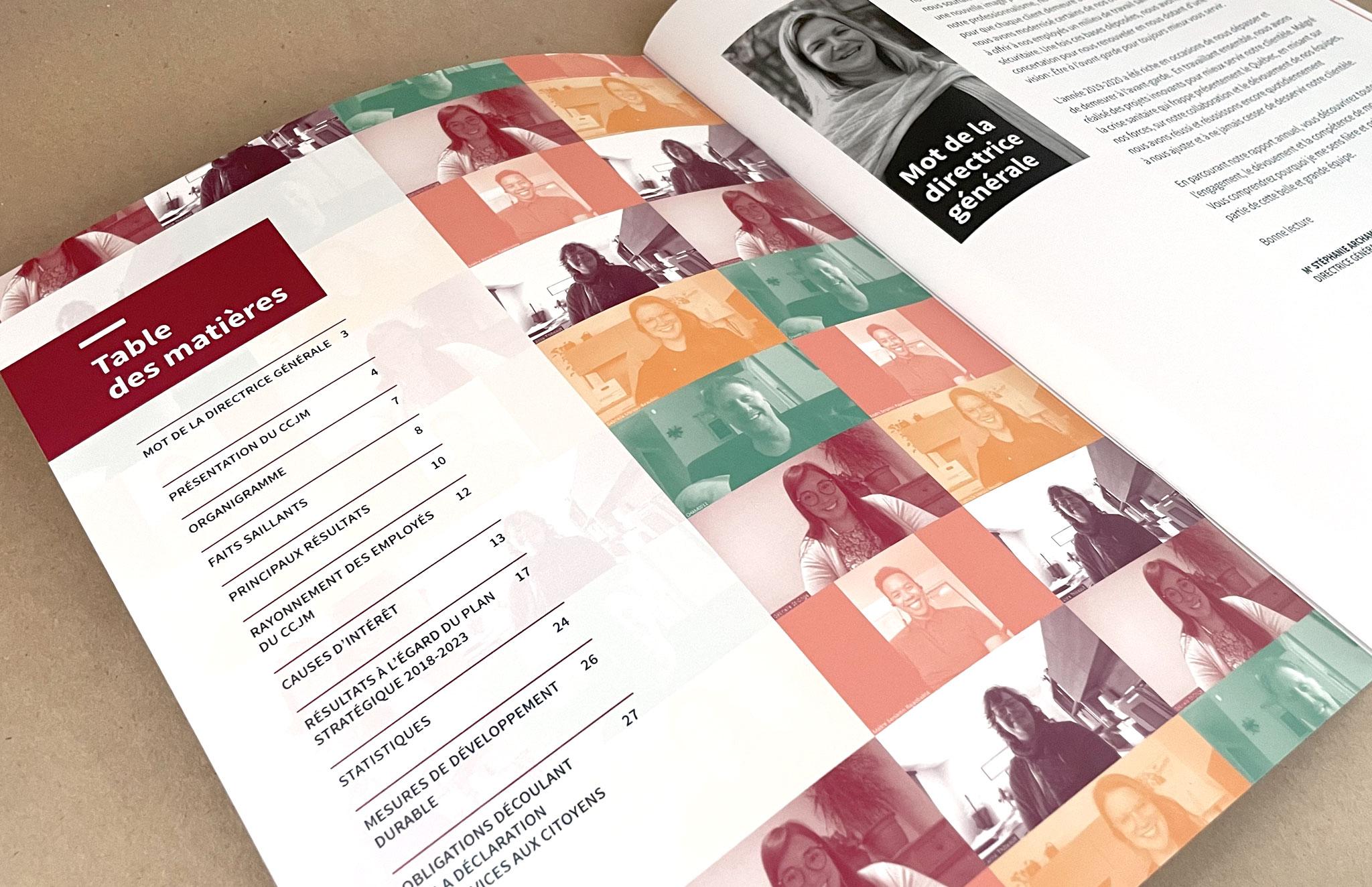 CCJM - Centre communautaire juridique de Montréal rapport annuel.