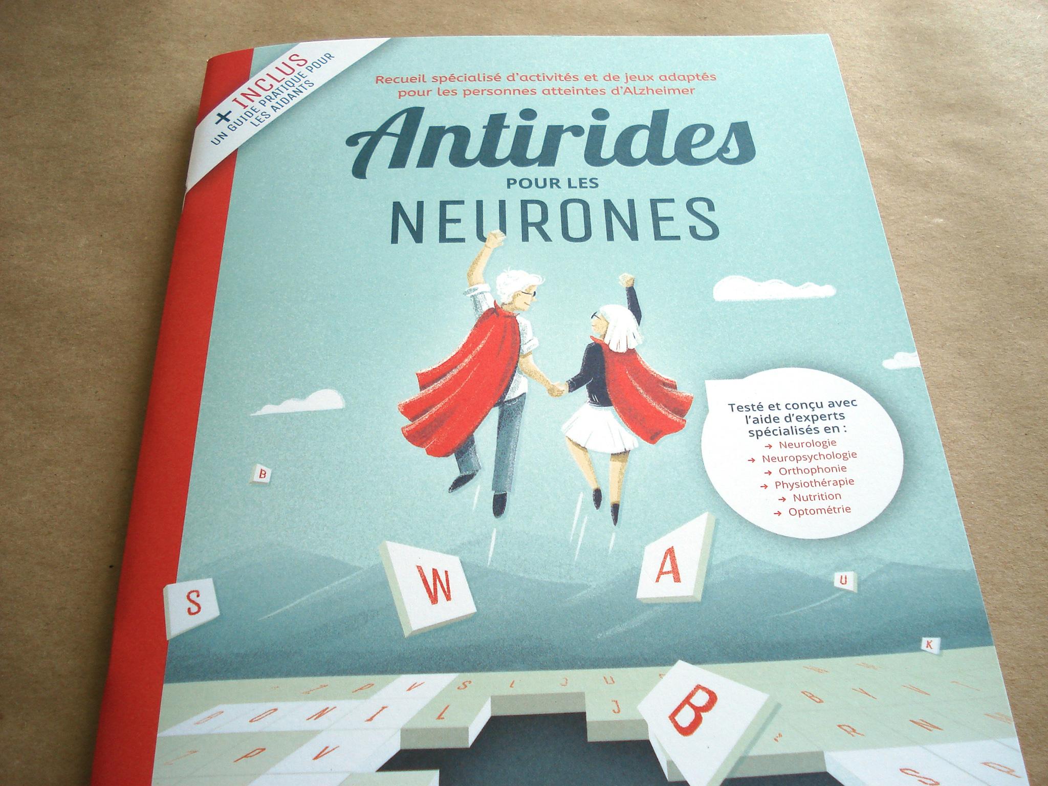 Recueil spécialisé d'activités et de jeux adaptés pour les personnes atteintes d'Alzheimer. Guide pratique pour les aidants.