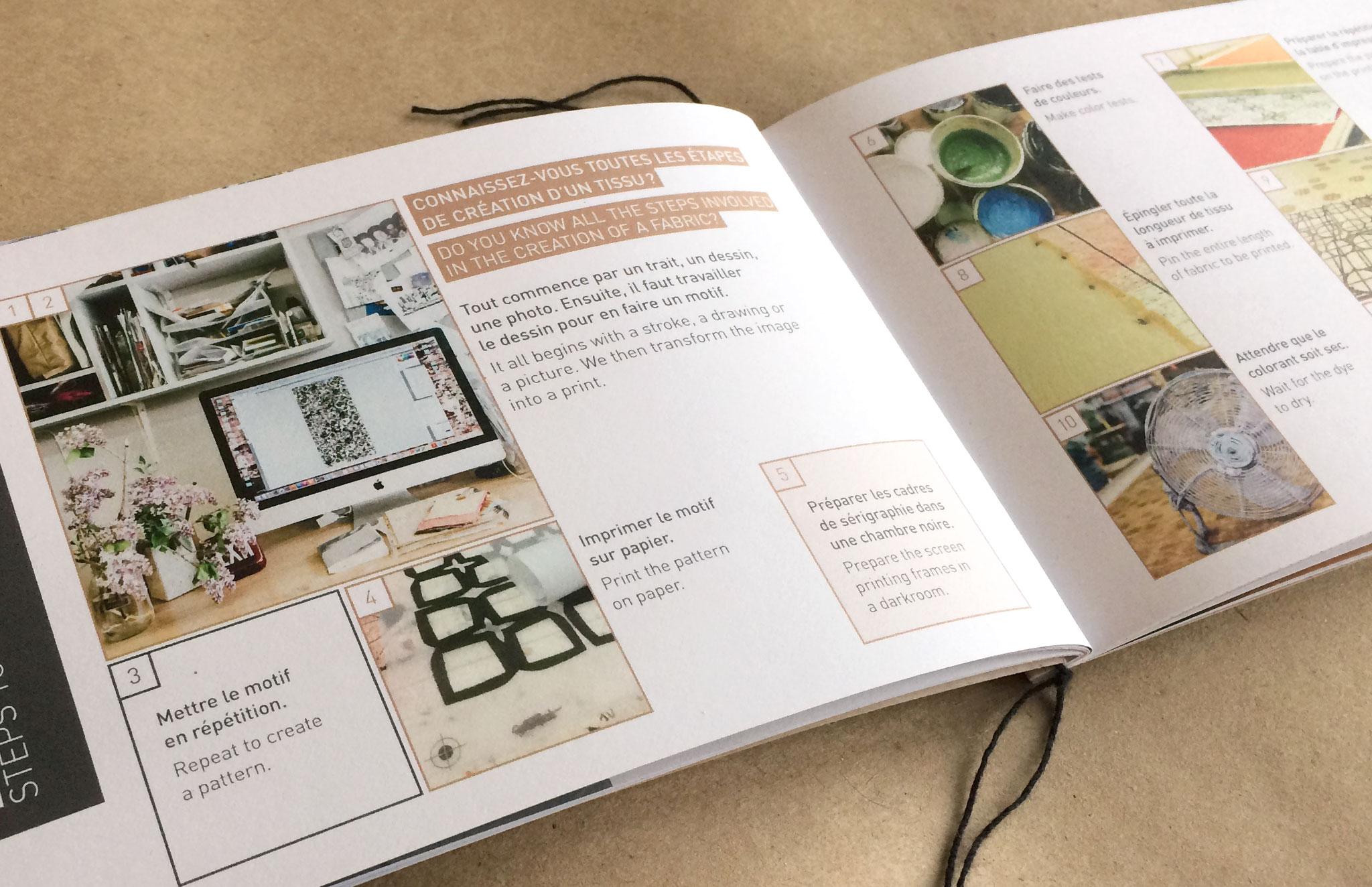 Catalogue services & produits pour Foutu Tissu.