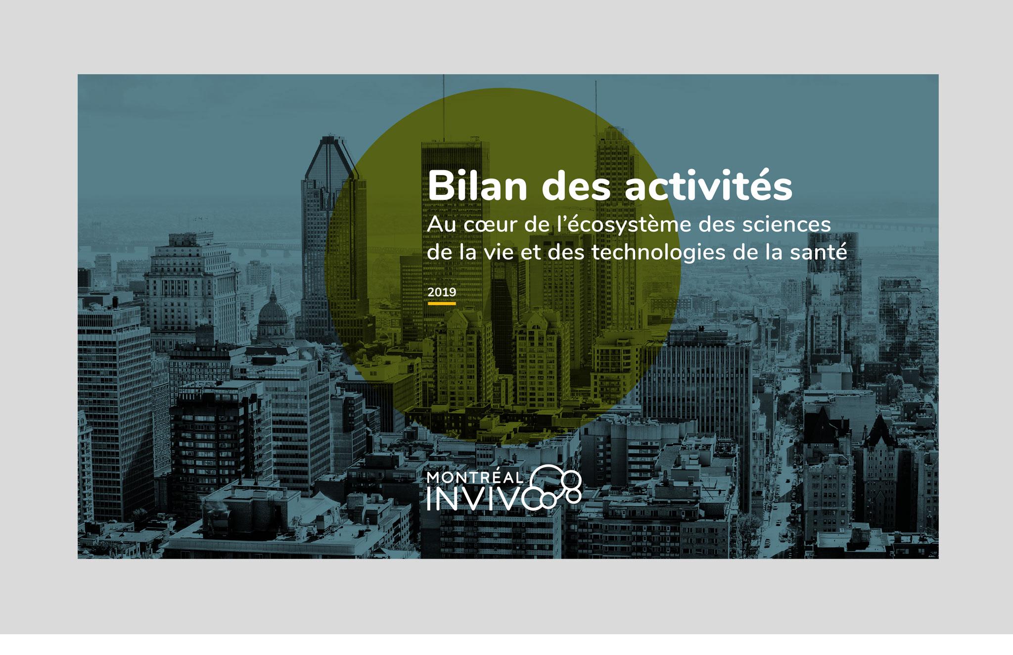 Outils de communication de Montréal InVivo.