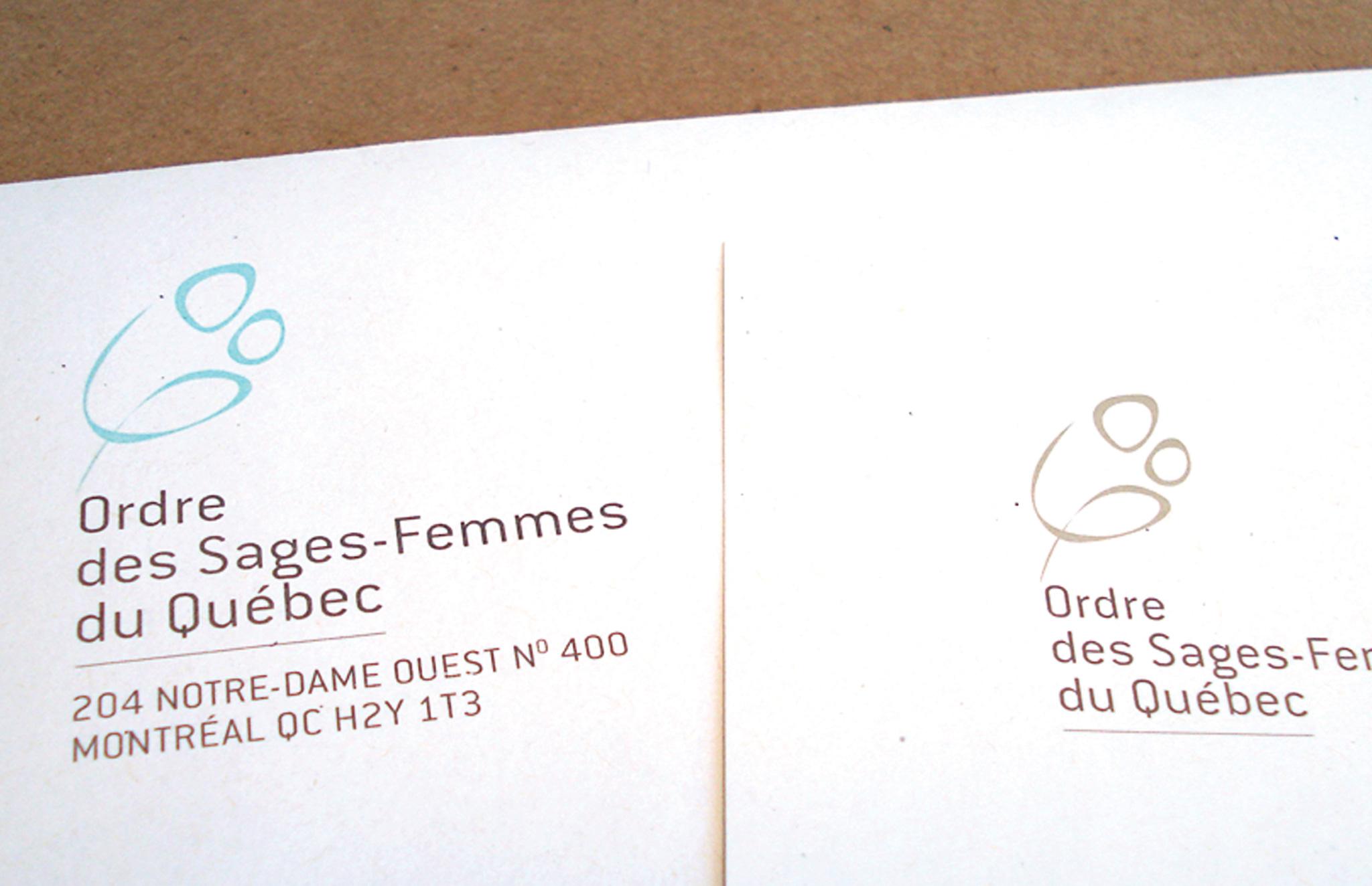 Rafraîchissement visuel logo et outils corporatifs de l'OSFQ.