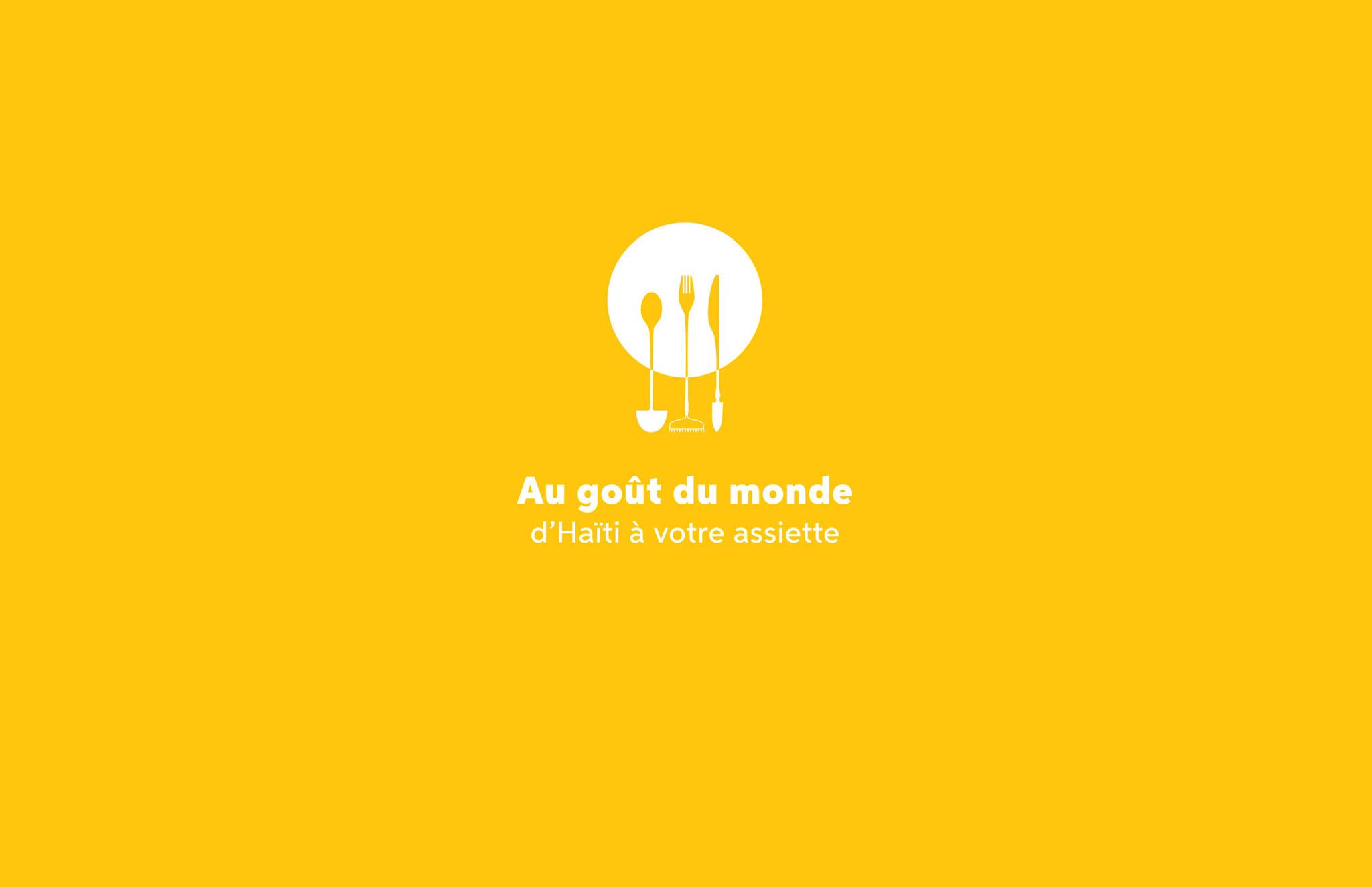 Identité et outils de communication pour la soirée bénéfice annuelle de Suco, Au Goût du Monde.